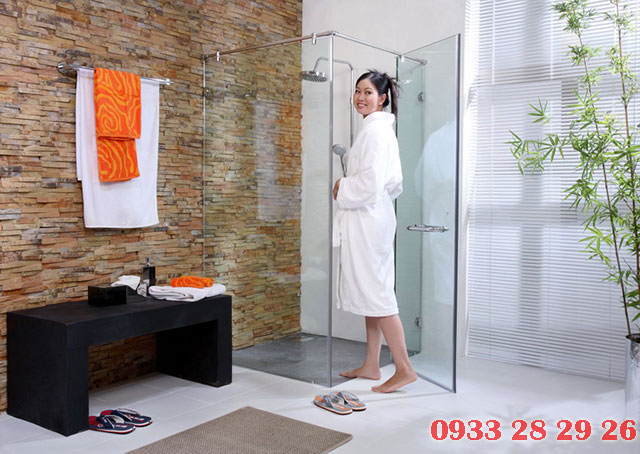 cabin tắm đứng 90 độ
